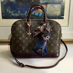 Louis Vuitton Alma PM painted handbag